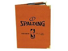 "Spalding NBA 5""x 7"" Padfolio - Orange"