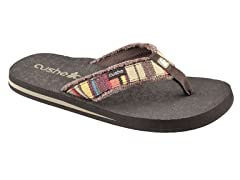 Men's Forensic Flop Canvas - Brown/Multi
