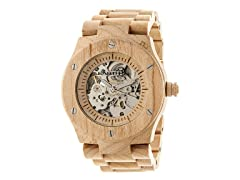 Earth Grand Mesa Automatic Wood Watch - Pick Color