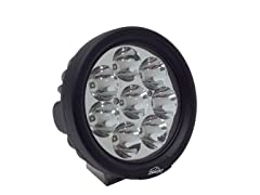 "Lazer Star 4"" 3W 8-LED Round Spot Light"