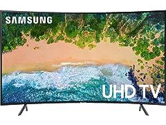 "Samsung 65"" Class NU7300 Curved Smart 4K UHD TV"