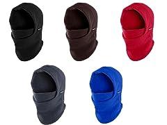 3-Pack Fleece Balaclava Winter Hat Mask