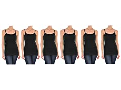 Womens Plus-Size  Camisole(6 pack)