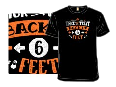 Trick or Treat Back Up 6 Feet