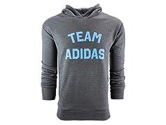 adidas Men's Team Pullover Hoodie