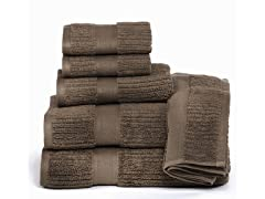Quick Dry Zero Twist Cotton 6-piece Towel Set