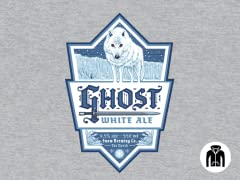 Ghost White Ale Zip-Up Hoodie