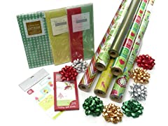 Green Holiday Wrap Assortment