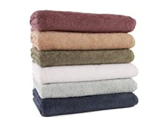 700GSM Luxury Bath Sheets-S/2-5 Colors