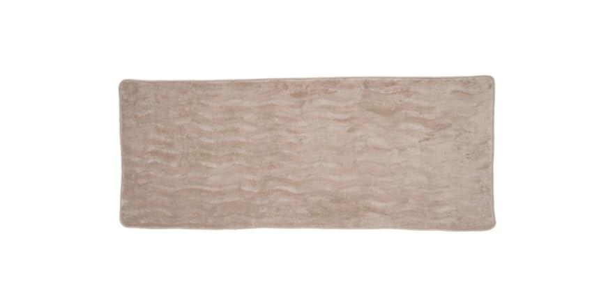 Lavish Home Memory Foam Extra Long Bath Rug Mat