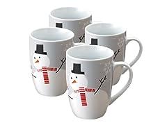 Lil Hoot & Snowman 11oz Mug - Set of 4
