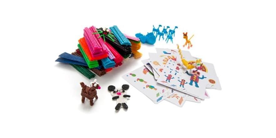 Bendaroos 1750 piece activity pack bundle kids toys for 1 2 buckle my shoe 3 4 shut the door