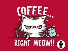 CATffeine Pullover Hoodie