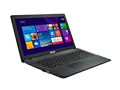 "Asus 15.6"" Intel Dual-Core, 4GB Laptop"