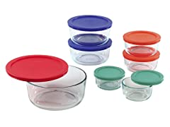 Pyrex 14-Piece Storage Set