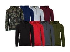 2PK ASST Mens Pullover Sweater Hoodie