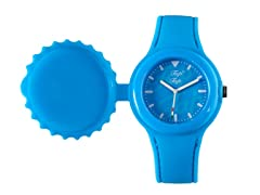 Light Blue Silicone Watch