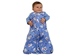 Microfleece Sleepsack - Blue Puppies