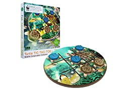 Turtle Tic-Tac-Toe Wooden Game Set