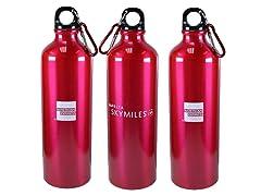 3PK Stainless Steel Water Bottle