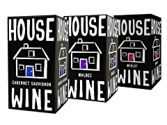 House Wine Mixed Red, 3L Box (3)