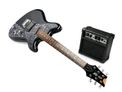 Retro Fire Electric Guitar & Amp Bundle
