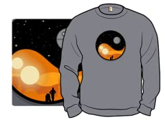 """""""Galactic Balance"""" Crewneck Sweatshirt"""