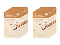 Real Nature Shea Butter Mask - 10 Pack