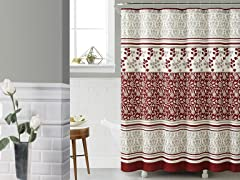 Lyon Embossed Shower Curtain