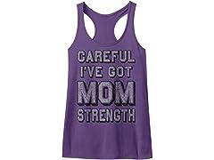 Mom Strength Racerback