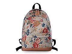 Lightweight Canvas Laptop Backpack