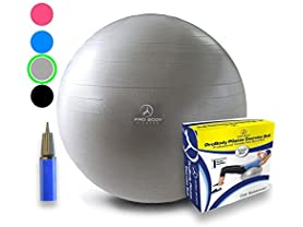 Exercise Ball - Professional Grade Anti…