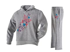 Fila Girls Fleece Set - Butterfly (5/6)