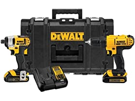DeWALT ToughSystem 2-Tool Combo Kit with Tool Box
