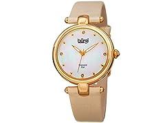 Burgi Women's Dazzling Diamond Watch