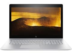 "HP ENVY 17"" 4K UHD Intel i7, 512GB, MX150"