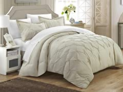 Chic Home Design, LLC Veronica 3 Piece Duvet Set