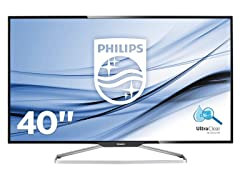"Philips 40"" Class 4K Ultra HD Monitor"