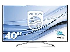 "Philips BDM4065UC-B 40"" Class 4K Monitor"