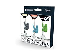 Fred Sloth Drink Markers - Set of 6