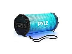 Pyle Wireless Portable Bluetooth Boombox Speaker