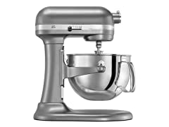 KitchenAid 6-Qt. Pro Bowl-Lift Stand Mixer-Silver