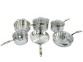 Fiesta Masquerade 10-Piece Cookware Set