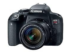 Canon Rebel T7i DSLR w/ 18-55m Lens