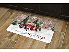Holiday Anti-Fatigue Kitchen Mats, Your Choice