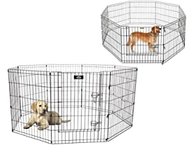 Portable Metal 8-Panel Pet Playpen
