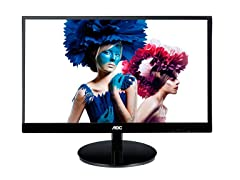 "22"" 1080p Ultra-Slim IPS LED Monitor"