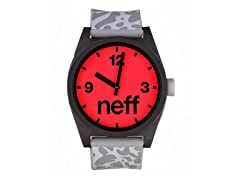Daily Helvetica Watch - KRK/Black/Red