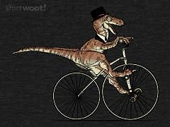 Villainous Victorian Velociraptor - Heather Remix