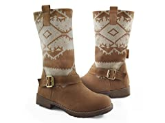 MUK LUKS® Women's Rachel Buckle Boot,Tan